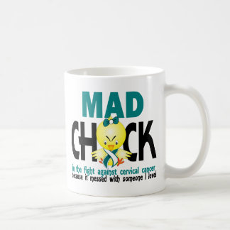 Mad Chick In The Fight Cervical Cancer Coffee Mug