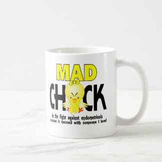 Mad Chick In The Fight Endometriosis Coffee Mug