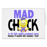 Mad Chick In The Fight Esophageal Cancer Cards