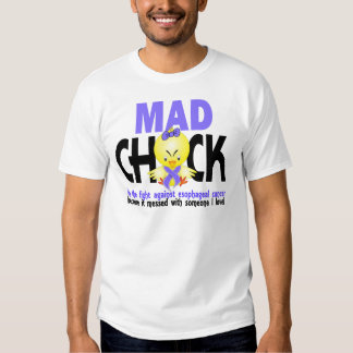 Mad Chick In The Fight Esophageal Cancer Shirt