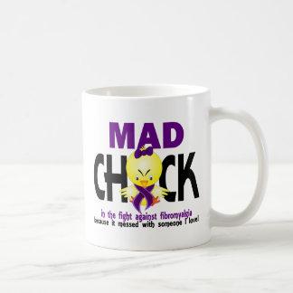 Mad Chick In The Fight Fibromyalgia Coffee Mug