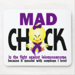 Mad Chick In The Fight Leiomyosarcoma Mouse Pad