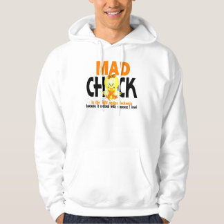Mad Chick In The Fight Leukemia Hoodie