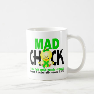 Mad Chick In The Fight Muscular Dystrophy Coffee Mug