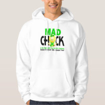 Mad Chick In The Fight Non-Hodgkins Lymphoma Hoodie