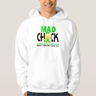 Mad Chick In The Fight Non-Hodgkins Lymphoma Sweatshirt