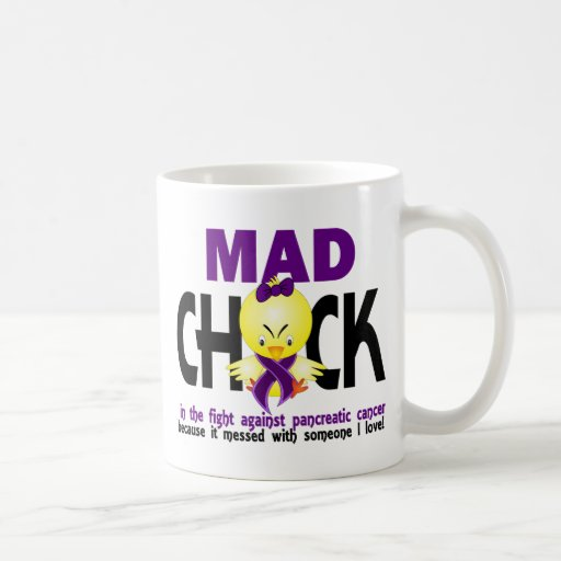 Mad Chick In The Fight Pancreatic Cancer Mug