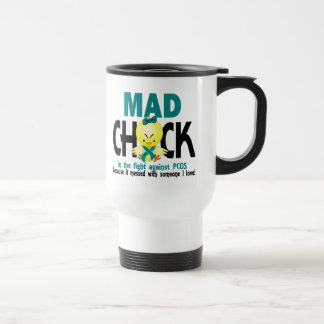Mad Chick In The Fight PCOS Coffee Mugs