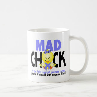 Mad Chick In The Fight Prostate Cancer Coffee Mugs