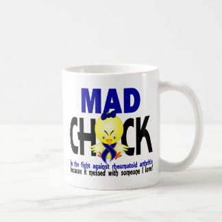 Mad Chick In The Fight Rheumatoid Arthritis Coffee Mug