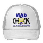 Mad Chick In The Fight Rheumatoid Arthritis Trucker Hat