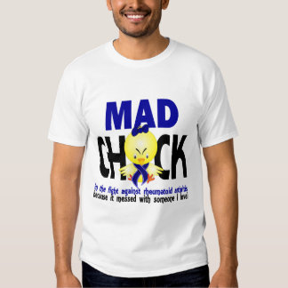 Mad Chick In The Fight Rheumatoid Arthritis Shirts