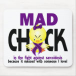 Mad Chick In The Fight Sarcoidosis Mouse Pad