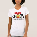 Mad Chick In The Fight Stroke Shirts