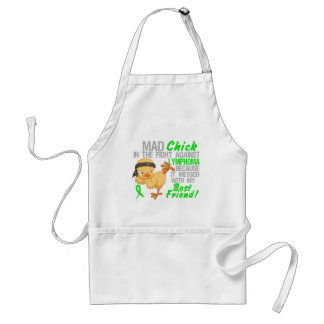 Mad Chick Messed With Best Friend 3 Lymphoma Adult Apron