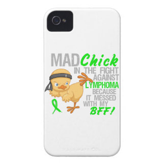 Mad Chick Messed With BFF 3 Lymphoma Case-Mate iPhone 4 Case