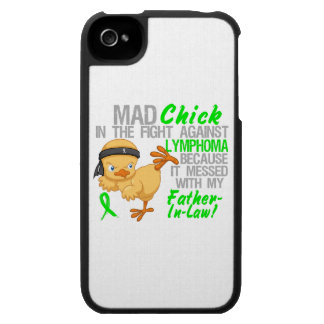 Mad Chick Messed With Father-In-Law 3 Lymphoma iPhone 4 Cover