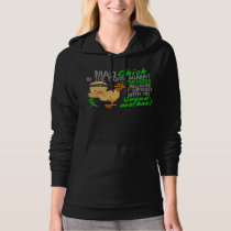 Mad Chick Messed With Grandmother 3 Lymphoma Hoodie