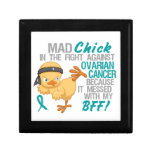 Mad Chick Messed With My BFF 3 Ovarian Cancer Gift Boxes