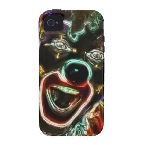 Mad Clown iPhone 4 4S Tough Vibe iPhone 4 Cover