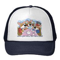 Mad Corgi Tea Party Hat