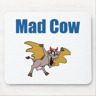 Mad Cow Mouse Pad