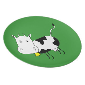 Mad Cow Plate