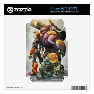 Mad Cow skins iPhone 3G Skin