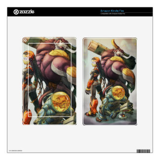 Mad Cow skins Kindle Fire Decal