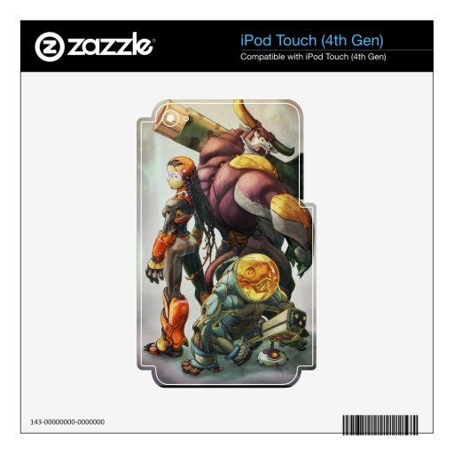 Mad Cow skins iPod Touch 4G Decal