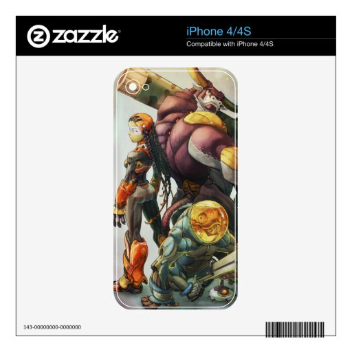 Mad Cow skins Skin For The iPhone 4