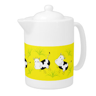 Mad Cow Teapot