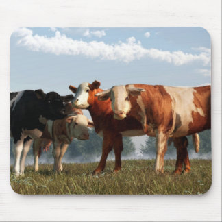 Mad Cows Mouse Pad