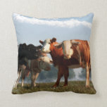 Mad Cows Pillow