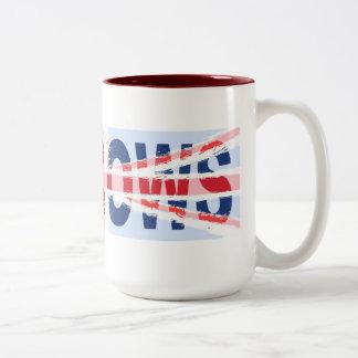 Mad cows, Two-Tone coffee mug