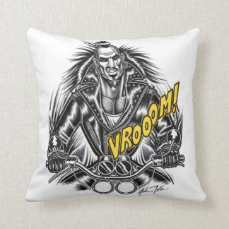 """""""Mad Daddy"""" Throw Pillow"""