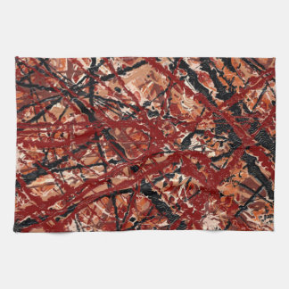 MAD DASH (an abstract art design) ~ Towels