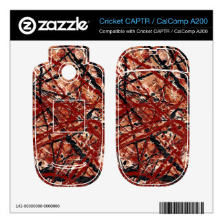 MAD DASH (an abstract art design) ~ Cricket CAPTR Skin