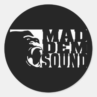 Mad Dem Sound Sticker #2