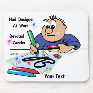 Mad Designer Mouse Pad