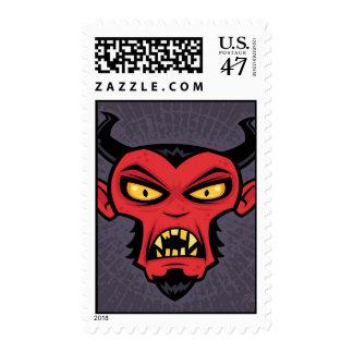 Mad Devil Postage Stamp