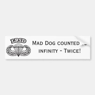 Mad Dog Bumper Sticker 3
