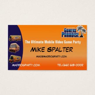 Mad Dog Business Card