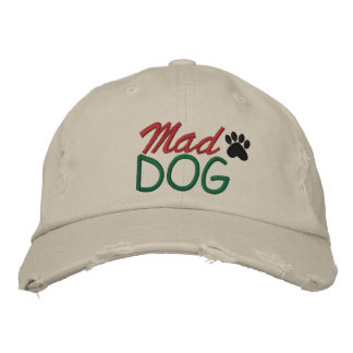 MAD DOG by SRF Embroidered Baseball Hat