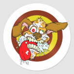 Mad Dog Classic Round Sticker
