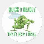 Mad Dog Hopper Sticker