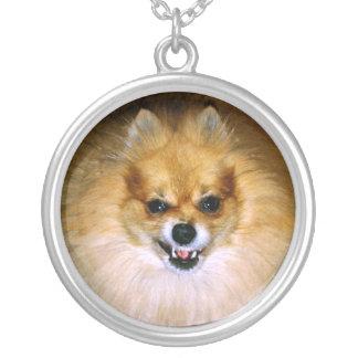 Mad dog Marley Round Pendant Necklace