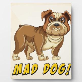 Mad dog display plaques