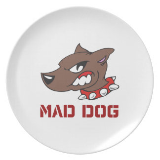 Mad Dog Party Plates