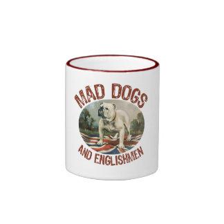 Mad Dogs & Englishmen Ringer Mug